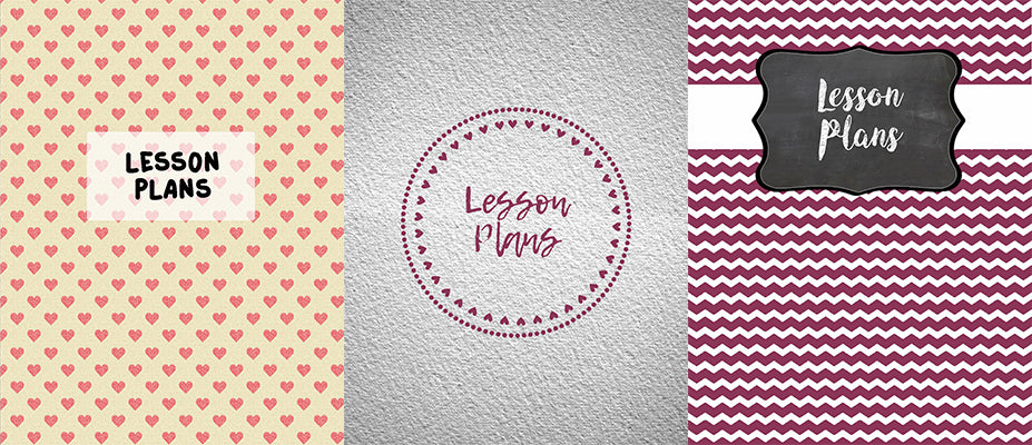 editable lesson plan binder cover sheets kind cotton