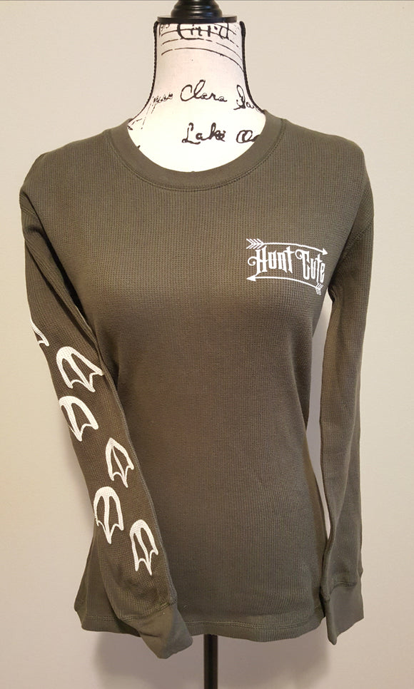 Hunt Cute long sleeve thermal with duck tracks