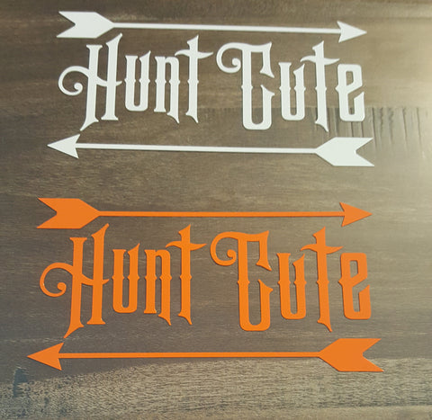 Hunt Cute Vinyl Decals