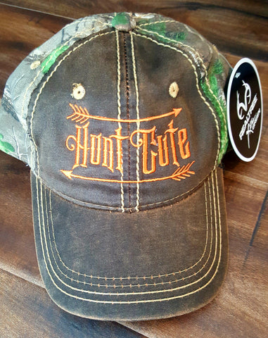 Realtrees Camo Bright Orange Hunt Cute Hat