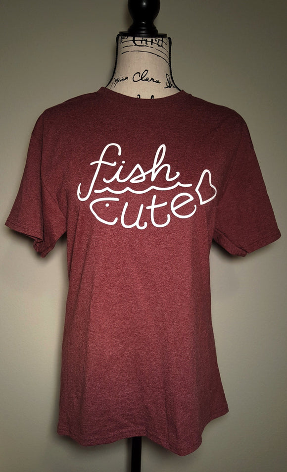 Heather Maroon Classic Tee