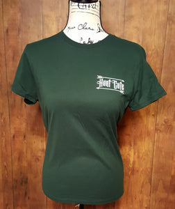 Hunter Green Double Sided Hunt Cute T-Shirt