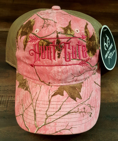 Mossy Oak Pink Camo Hunt Cute Ball Cap
