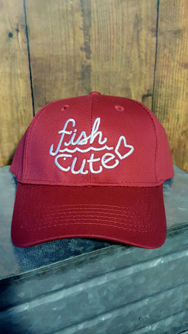 Youth Red Fish Cute Hat