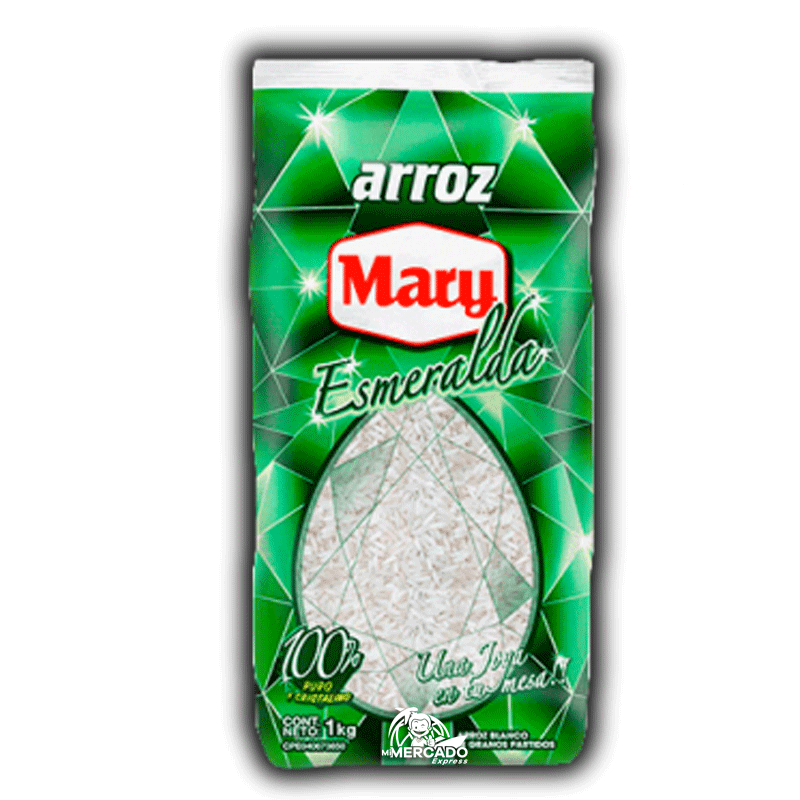 ARROZ BLANCO MARY ESMERALDA, 1Kg