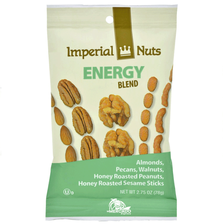 IMPERIAL NUTS ENERGY BLEND, 2.75-OZ/(78g)