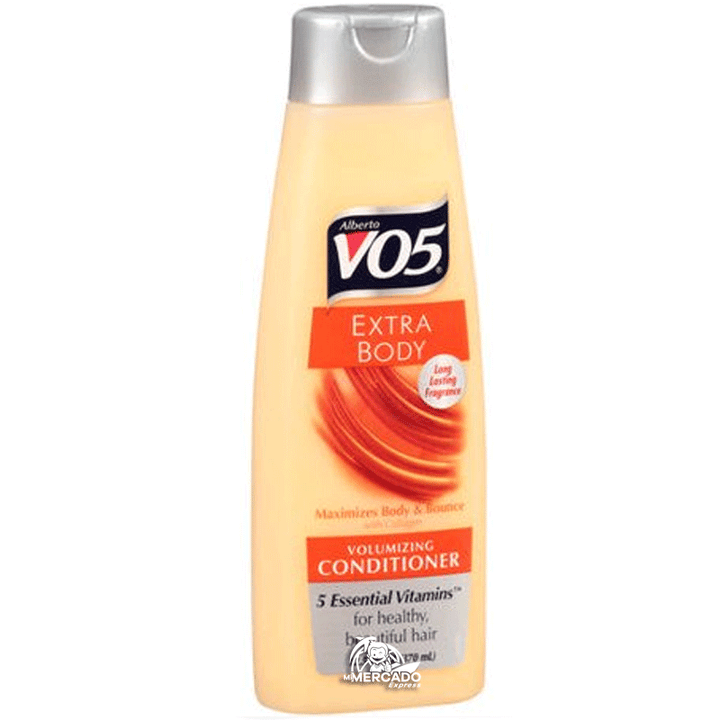 ACONDICIONADOR VO5 EXTRA BODY VOLUMIZING, 15-Oz/(443 mL)