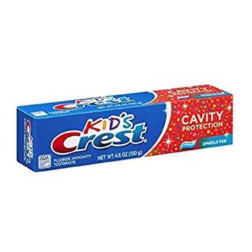 CREMA DENTAL CREST KIDS, 4.6-oz / (130 g)