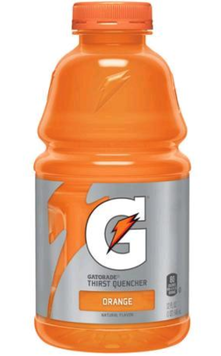 GATORADE THIRST QUENCHER, SABOR NARANJA, 12Oz/(355mL)