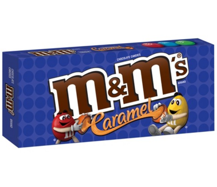 M&M CARAMELO, 3-Oz/(85.1g)