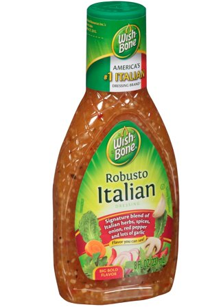 VINAGRETA ITALIANA PARA ENSALADAS, 8-Oz/(257mL)