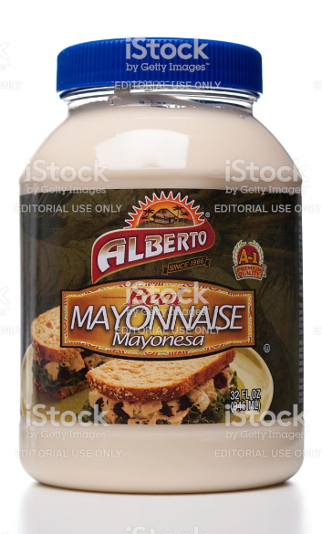 MAYONESA FAMILIAR ALBERTO, 32-Oz/ (907 mL)