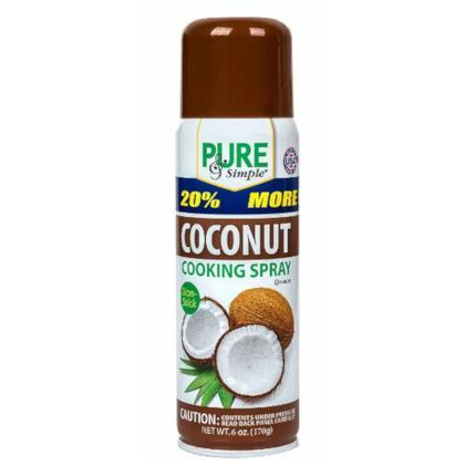 ACEITE EN SPRAY DE COCO, 6-Oz/(170g)