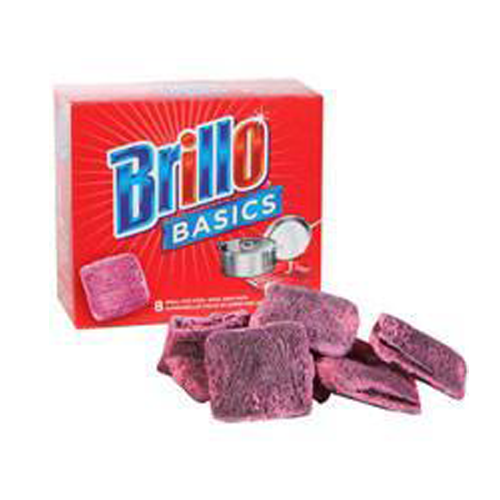 ESPONJAS BRILLO BASICS x 8