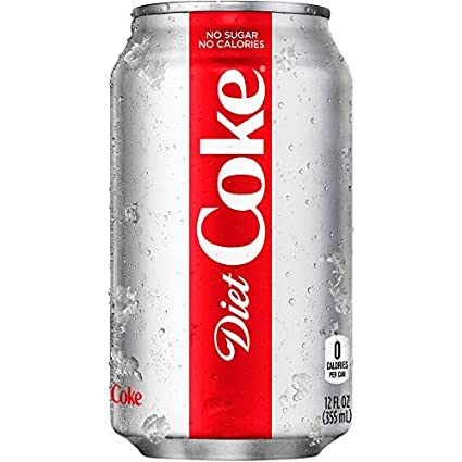 COCA COLA LIGHT, LATA 12-Oz