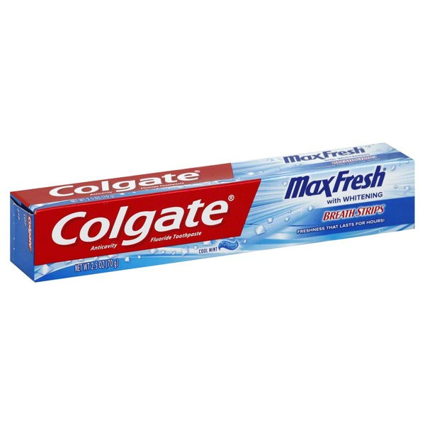 CREMA DENTAL COLGATE MAX FRESH, 2.5-Oz / (70 g)