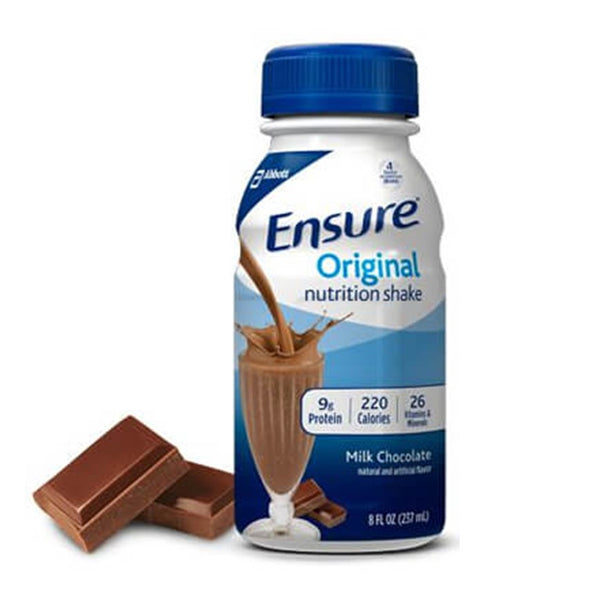 ENSURE, BATIDO NUTRICIONAL, SABOR CHOCOLATE, 8-FL Oz / (237 ml)