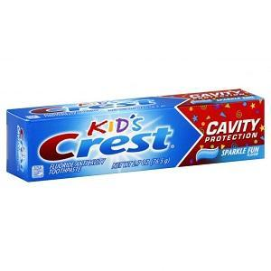 CREMA DENTAL CREST KIDS, 2.7-oz / (76.5 g)
