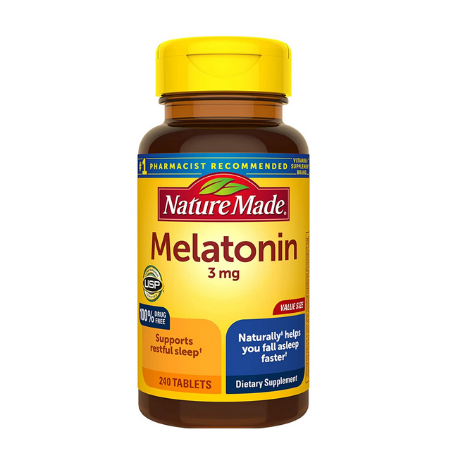 MELATONINA 3mg, 240 TABLETAS