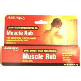 DOLORES MUSCULARES - Assured Extra-Strength Muscle Rub, 1.5 oz / (42.5 g)