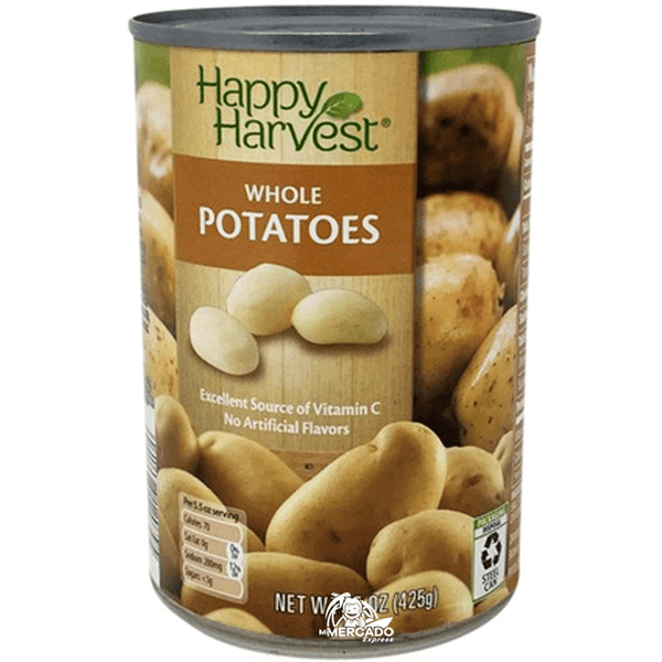 PAPAS ENTERAS ENLATADAS, 15oz/(425 g)