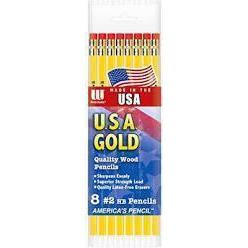 LAPICES 8 USA GOLD