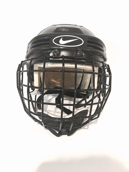 Nike Helmet, Bauer Cage, Youth