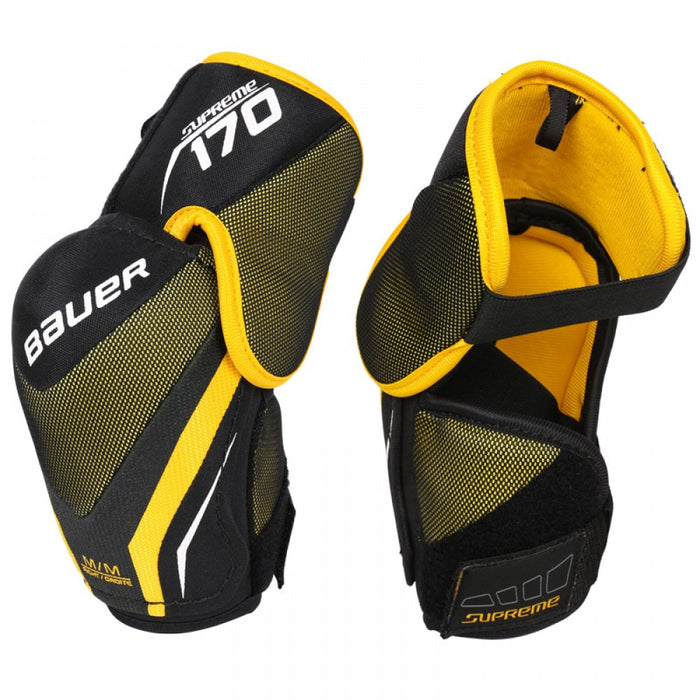 ELBOW PADS, BAUER, SUPREME 170, JUNIOR SMALL