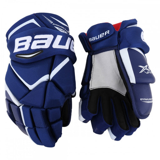 GLOVES BAUER VAPOR X800 NAVY/GOLD JUNIOR