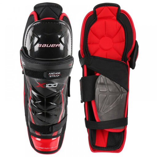 SHIN GUARDS BAUER VAPOR X100 SENIOR 13""