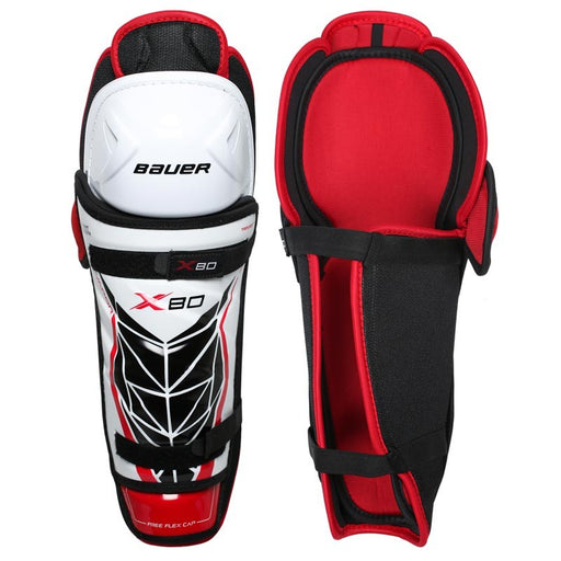 SHIN GUARDS BAUER VAPOR X80 SENIOR 15""