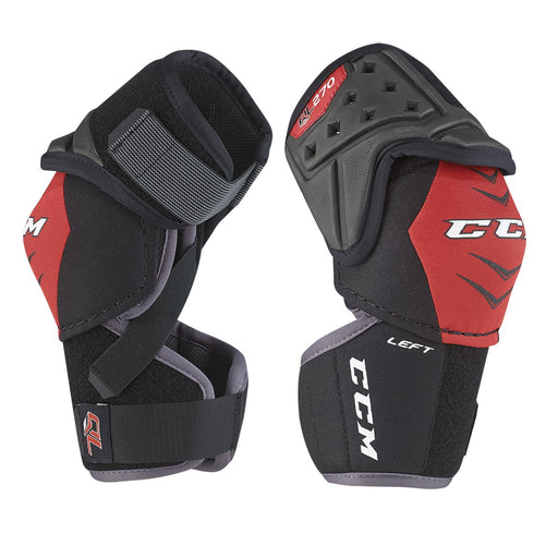 ELBOW PADS, CCM, QLT 270, JUNIOR MEDIUM