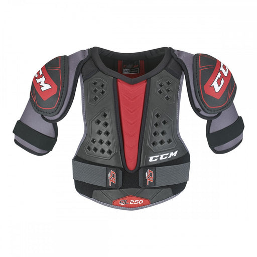 SHOULDER PAD, CCM, QLT 250, JUNIOR MEDIUM