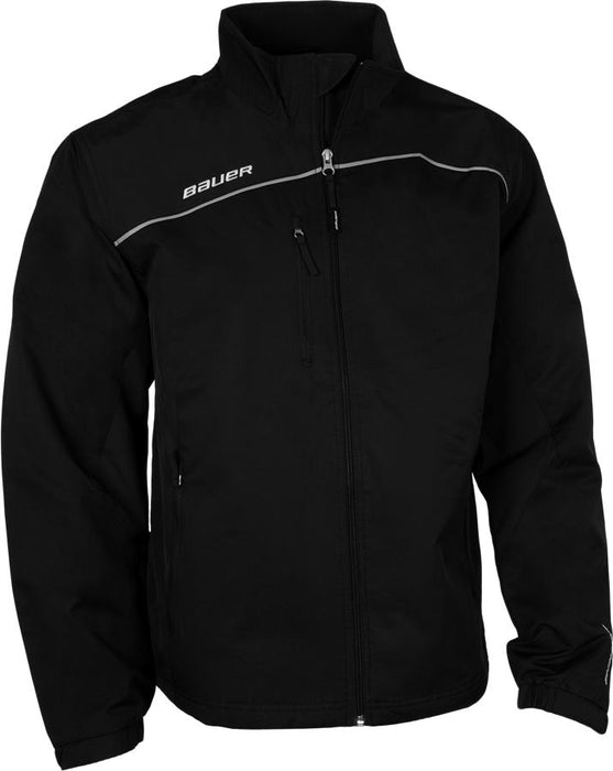 JACKET BAUER LITE WARM UP BLACK SENIOR