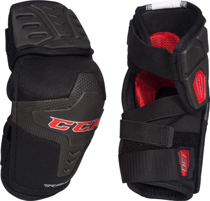 ELBOW PADS, CCM, RBZ 130, SENIOR SMALL