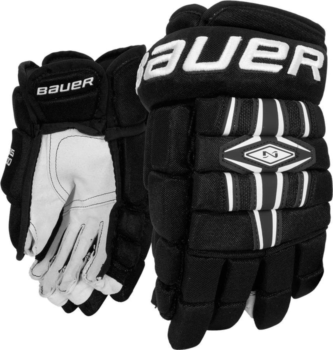 Gloves, Bauer, NEXUS 800, Black Junior