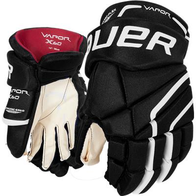 GLOVES BAUER VAPOR X60 BLACK 12""