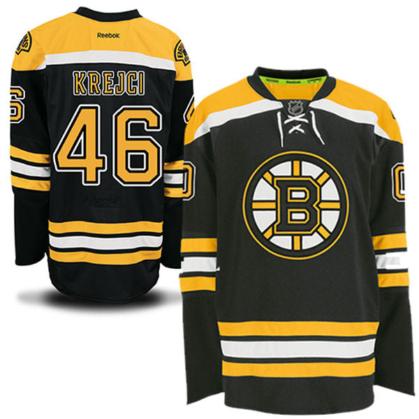 JERSEY REEBOX PREMIER BOSTON BRUINS KREJCI
