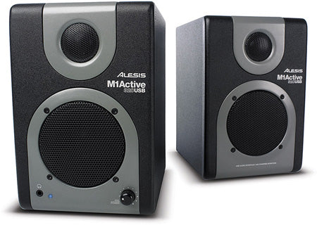 Alesis M1Active 320 USB 2Way Active Desktop Monitors Pair