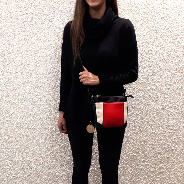 red handbag for Fall