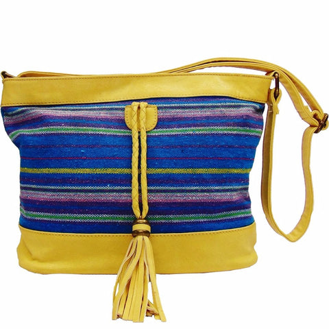 Shoulder Bag | Blue Yellow | Louise