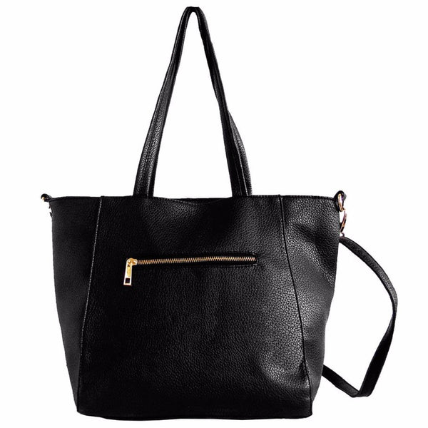 tote purse with zipper