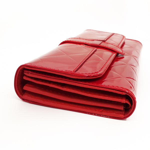 Shiny wallets for Women | Red
