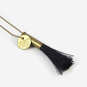 Half United Fighting Hunger Black Faye Necklace