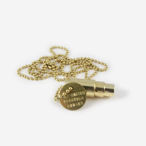 Half United Fighting Hunger Gold Necklace