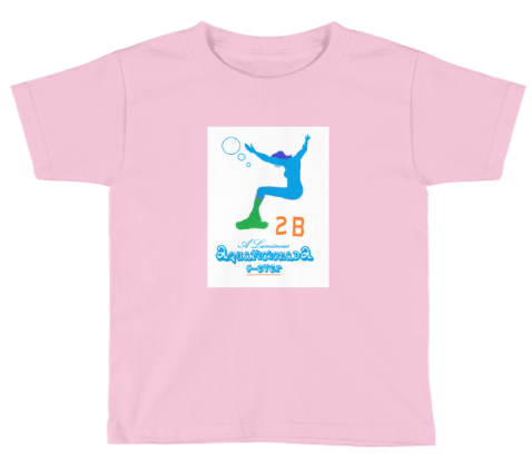 LUMINOUS AQUAFICIONADA - CHILDREN T-Shirt (PINK only)