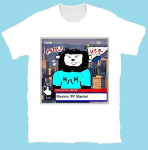 Luminous Characters Series - M*Pi*M - Unisex T-Shirt