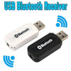 USB Bluetooth A2DP Dongle Adapter Bluetooth Music Audio Receiver Wireless Stereo 3.5mm Jack for Car Aux Android/IOS Mobile Phone - Sarahs Collection