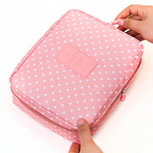Cosmetic case Makeup bag  wash bag Women portable Bag toiletry Storage waterproof Travel Bags - Sarahs Collection