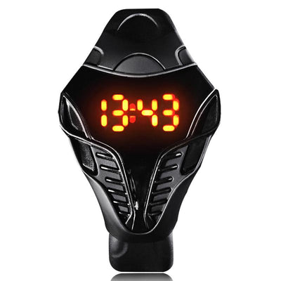 New Arrival Reloj Led Watch Mens Sports Snake Dial Unique Desgin Military Casual and Fashion Silicone Reloj Digital-watch - Sarahs Collection